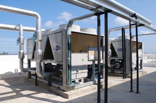 Instalação e Retrofit de Sistemas Refrigeração e Aquecimento